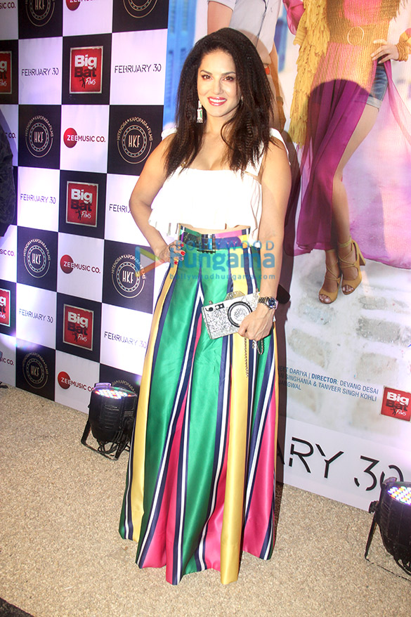 Launch of Sunny Leone's new single 'Hollywood Wale Nakhre' (2)