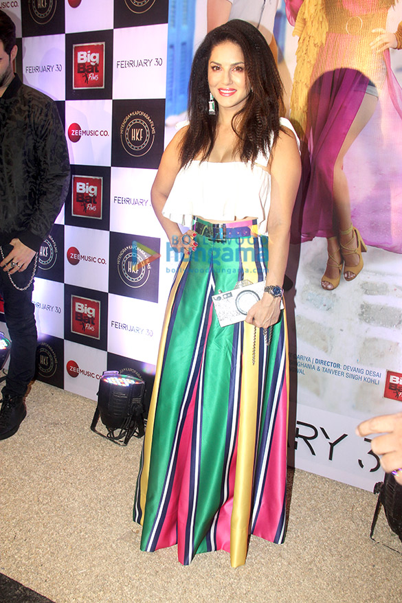 Launch of Sunny Leone's new single 'Hollywood Wale Nakhre' (3)