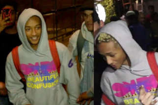 MUST WATCH American Rapper Jaden Smith SPOTTED at Mumbai Airport