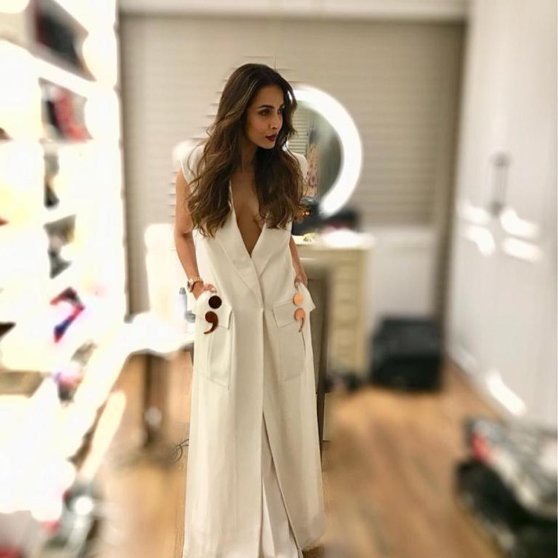 Malaika Arora in Nikhil Thampi blazer for Sophie Choudry's song launch (5)