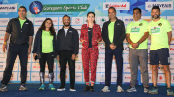 Marathon Flagged off by Tapsee Pannu on the Occasion of The World Cancer Day