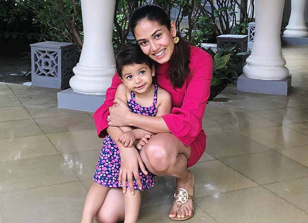 """Just today we posted an article about how cute Shahid Kapoor and Mira Kapoor's daughter Misha looked sitting in the food trolley. Now it seems like Mira has surprised many by getting her little girl's hair coloured. In an Instagram story, Mira Kapoor proudly revealed her daughter's coloured locks. But it seems like she got some shocking reactions to it online.  So, according to Mira, she got Misha's hair coloured at celebrity hair stylist Aalim Hakim's salon. There are shades of red and green on the ends of her tiny pony tail. Mira went on to state, """"I'm not a regular mom, I'm a cool mom."""" But seems like Mira got a lot of flak for colouring the hair of her 2 year old daughter as she immediately went on to claim that the colours are just temporary and people need to relax in the very next insta story. Mira's second post quoted Misha stating, """"Relax guys it's just temporary. Wait till I'm 5.""""  This is not the first time that Mira has found herself in a spot. In the past too she was trolled on the internet when made a comment on working mothers by comparing infants to puppies. Post that, she was also criticized for endorsing an anti-aging skin care brand at such a young age."""