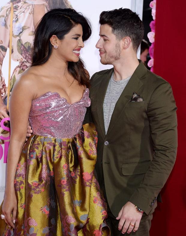 Nick Jonas attends premiere of Priyanka Chopra's Isn't It Romantic; ex-girlfriend Miley Cyrus also attends the screening