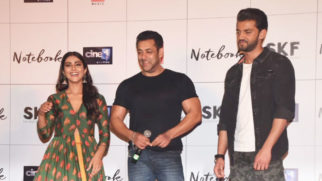 Notebook Movie Trailer Launch Salman Khan Zaheer Iqbal Pranutan Bahl Part 2