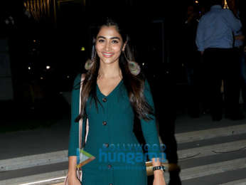 Pooja Hegde spotted at Hemant Oberoi in BKC