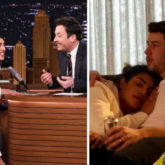 Priyanka Chopra reveals who took the COZY photo of her and husband Nick Jonas during Superbowl on Jimmy Fallon's The Tonight Show
