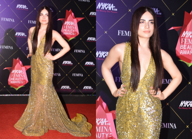 Radhika Madan in Rajat Tangri for Nykaa-Femina Beauty Awards (1)