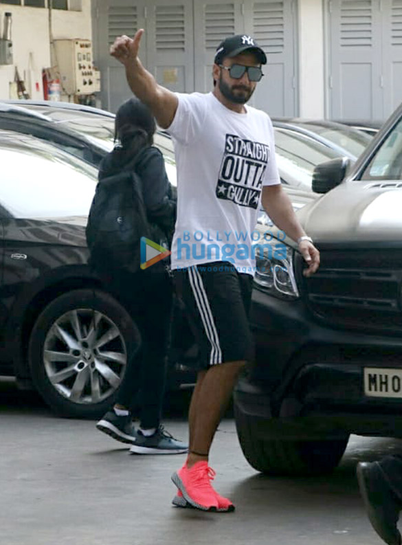 Ranveer Singh and Riteish Deshmukh spotted at Bandra
