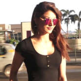 SPOTTED Urvashi Rautela at Airport flying for shooting of Film 'PagalPanti'