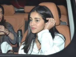 SPOTTED Ananya Pandey and Sonal Chauhan at Soho House, Juhuonal Chauh