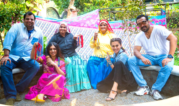 On The Sets from the movie Saand Ki Aankh