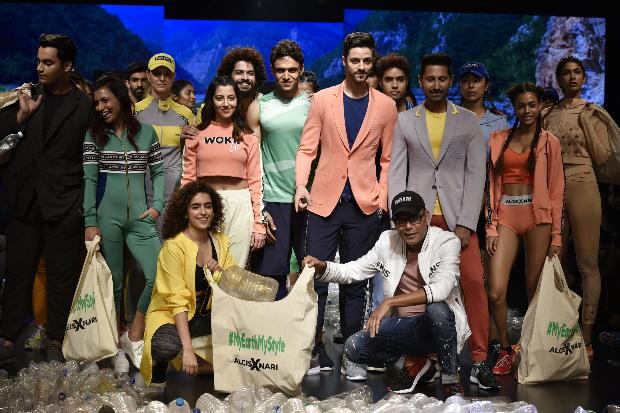 Sanya Malhotra for Narendra Kumar x Alcis Sports at LFW 2019 Summer/Resort (5)
