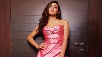 Sara Ali Khan looks like a dream in a pink thigh-high slit gown at Femina Beauty Awards