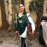Sara Ali Khan spotted outside the gym