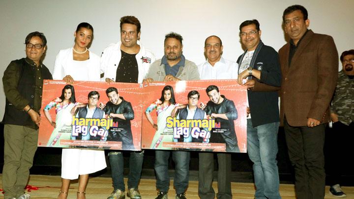 Sharmaji Ki Lag Gai Movie 1st Look Comedy Hindi Film Krishna Abhishek, Mugdha Godse & Shweta Khanduri