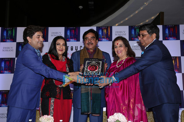 Shatrughan Sinha and Poonam Sinha launch 'A Touch of Evil' by author Dhruv Somani (4)