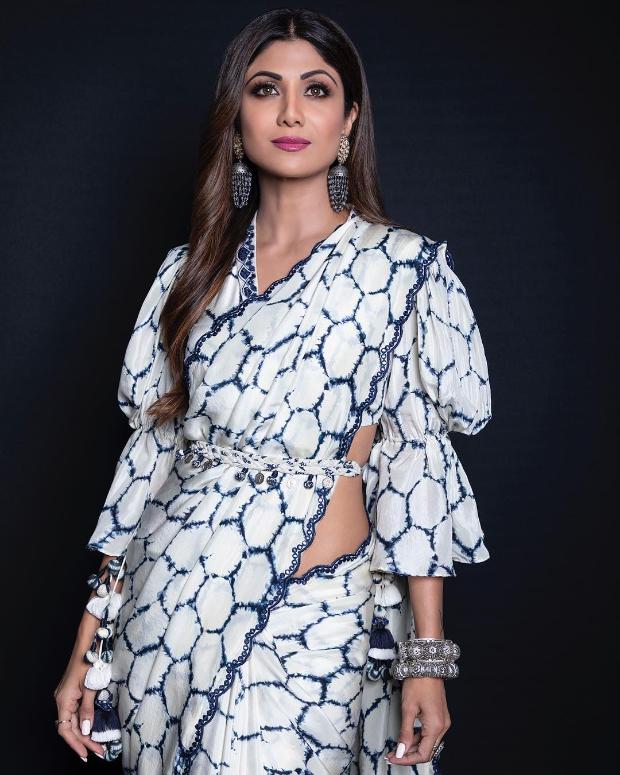 Shilpa Shetty in Punit Balana for Super Dancer Chapter 3 (2)