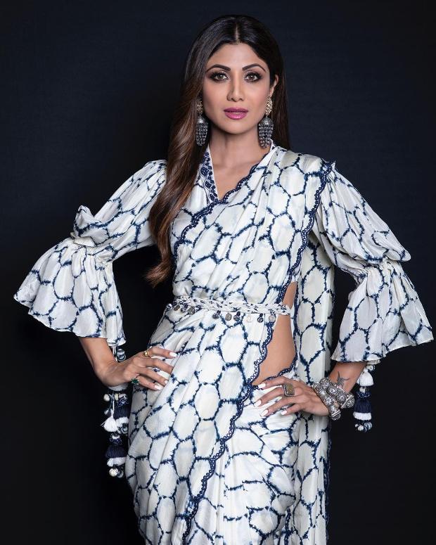 Shilpa Shetty in Punit Balana for Super Dancer Chapter 3 (3)
