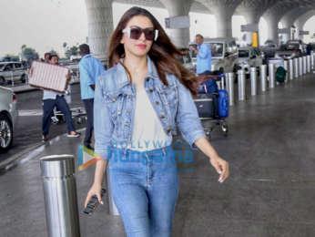 Shriya Saran, Hansika Motwani, Neha Dhupia and others snapped at the airport