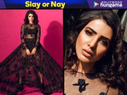 Slay or Nay Samantha Ruth Prabhu in Sunaina Khera for a photoshoot (Featured)