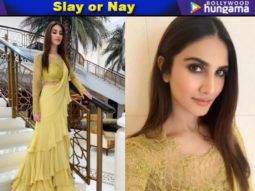 Slay or Nay - Vaani Kapoor in Anushree Reddy (Featured)