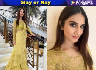 Slay or Nay - Vaani Kapoor in Anushree Reddy (Featured)