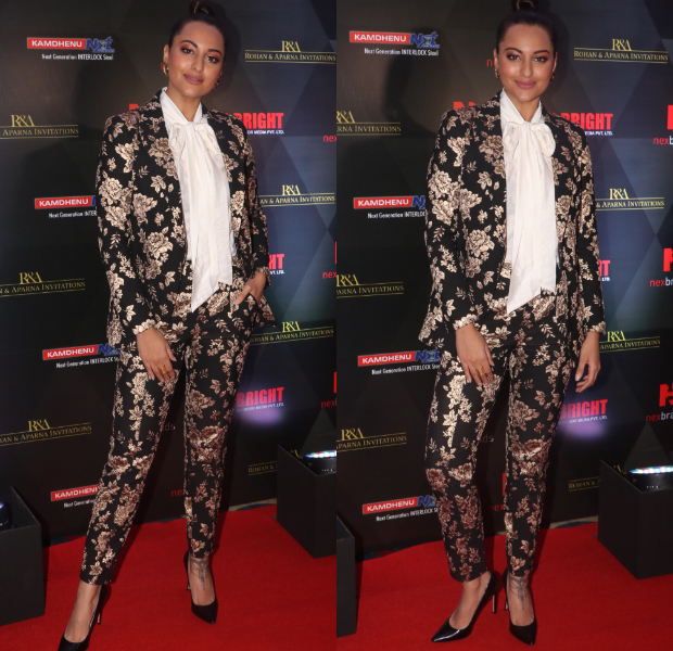 Sonakshi Sinha in Michelle Mason for Brand Vision Awards 2019 (4)