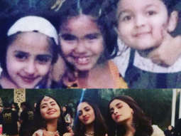 Soni Razdan gets nostalgic as she shares then and now photo of Alia Bhatt and her BFFs recreating the same pose