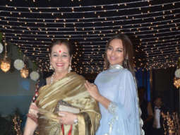 Superstar Salman Khan and Sonakshi Sinha Spotted at Manager Reception Party