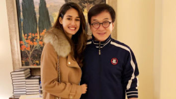 THROWBACK: Disha Patani strikes a pose with Jackie Chan, Tiger Shroff calls him a 'legend'