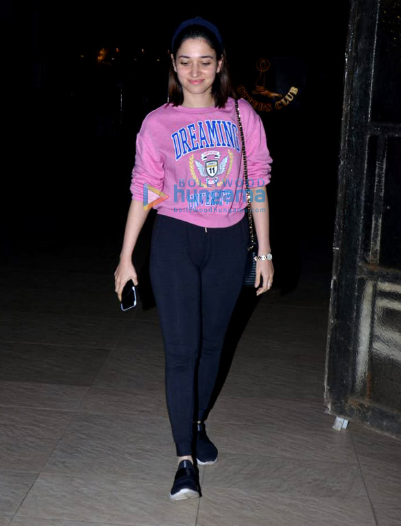 Tamannaah Bhatia snapped at Otters Club