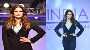Zareen Khan set the RAMP as SHOWSTOPPER at Plus Size Fashion Show