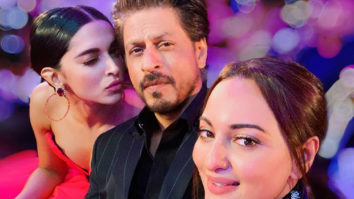 Sonakshi Sinha posts a selfie with Shah Rukh Khan and Deepika Padukone and the trio is giving us some major goals!