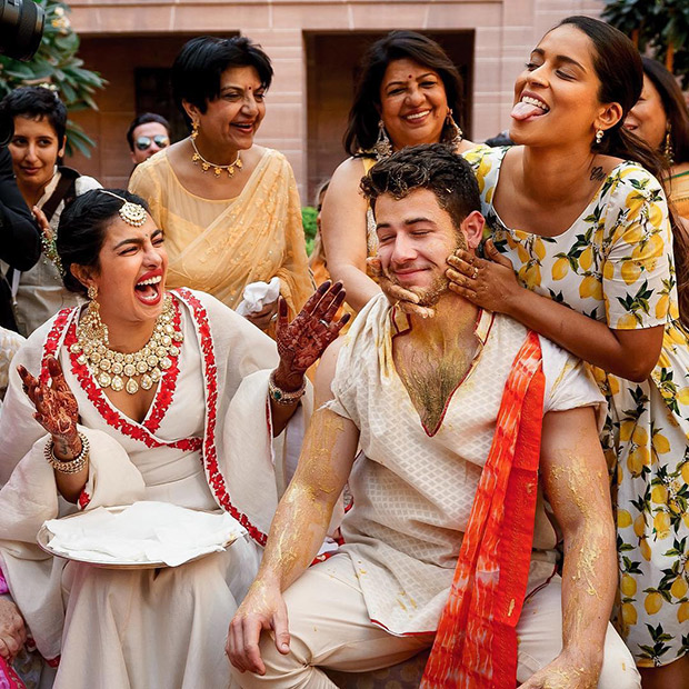 Priyanka Chopra and Nick Jonas Wedding – These pictures of Lilly Singh trying to turn a 'Jonas into a Simpson' will leave you in SPLITS!