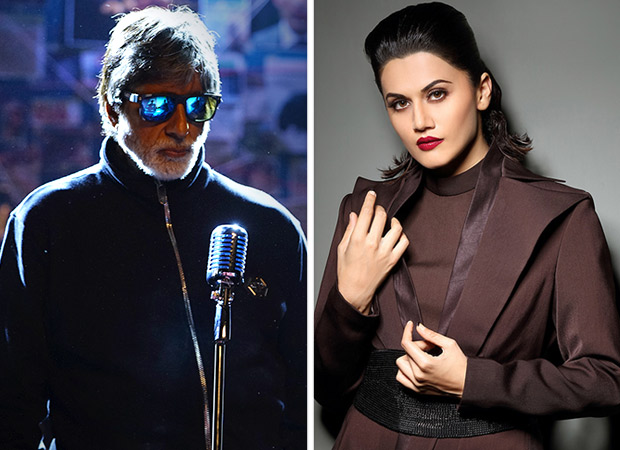 """""""I found Amitabh Bachchan to be more fun to work with than Abhishek Bachchan"""", Says Tapsee Pannu"""