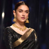 6 yards of love, indeed! Aditi Rao Hydari looks ravishing as she walks for the finale of Lotus Makeup India Fashion Week
