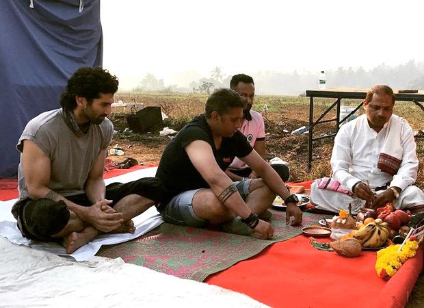 Aditya Roy Kapur and Mohit Suri commence Malang with a mahurat puja