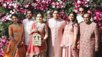 Ambani Family Visuals at Akash Ambani and Shloka Mehta's Wedding Reception