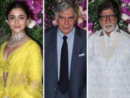 Amitabh Bachchan, Ratan Tata, Google CEO and others at Akash and Shloka's Wedding Reception