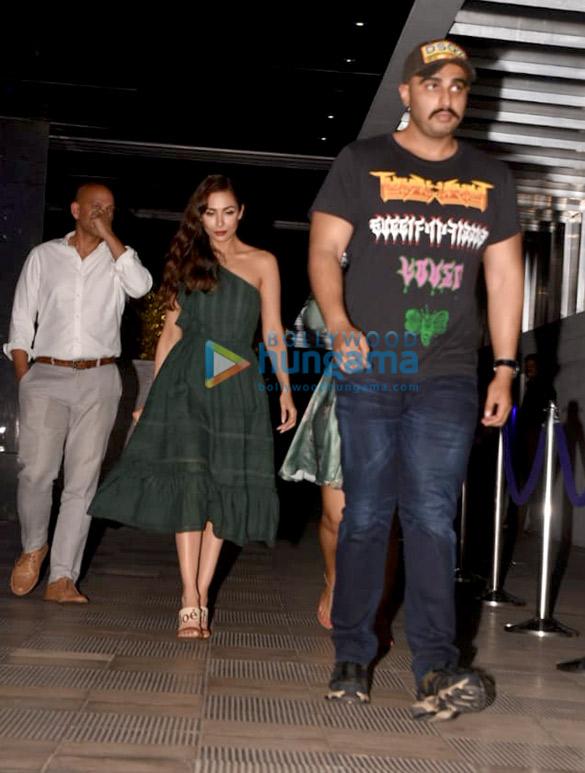 Arjun Kapoor, Malaika Arora, Kanika Kapoor and others spotted at Hakkasan in Bandra