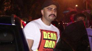 Arjun Kapoor SPOTTED at Bayroute Restaurant, Juhu