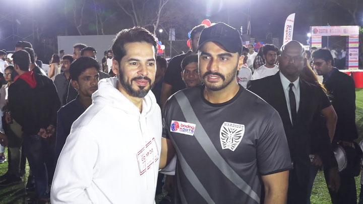 Arjun Kapoor and Dino Morea attend Roots Premier League Celebrations