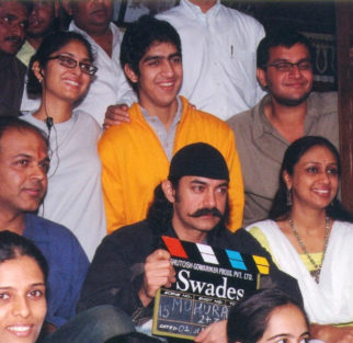 Ayan Mukerji shares a throwback picture from his Swades days with Aamir Khan and it is sheer nostalgia