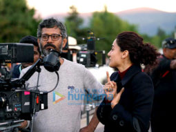 On The Sets Of The Movie Badla