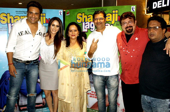 Celebs attend the special screening of Sharma Ji Ki Lag Gai in Andheri (3)