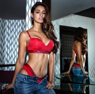 HOTNESS! Disha Patani sets the internet on fire in red lingerie