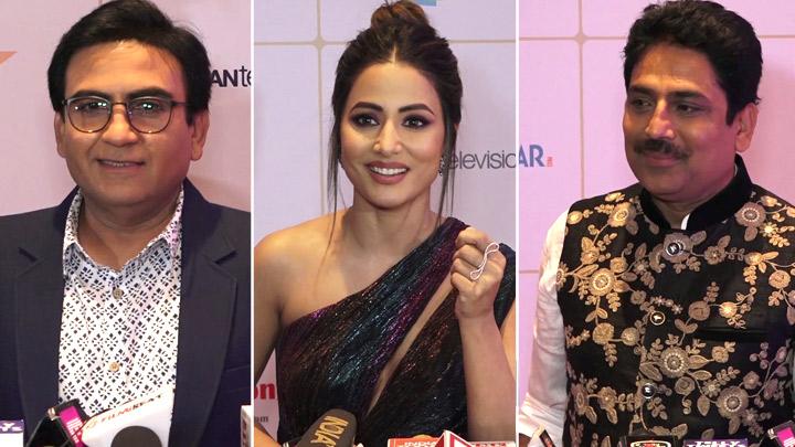 Hina Khan Tarak Mehta Ka Ooltah Chashmah Cast Others At Indian Telly Awards 2019