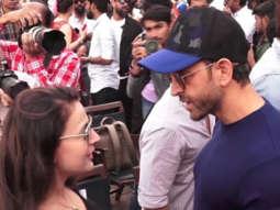 Hrithik Roshan, Ameesha Patel, Gurmeet Choudhary & others at Muhurat of Film Smile Please(8)