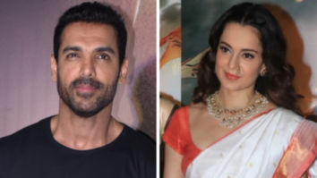 John Abraham REACTS to Kangana Ranaut's statement on actors not voicing political opinions