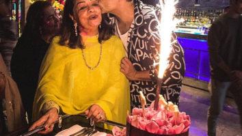 Karan Johar throws a lovely birthday bash for his mom Hiroo Johar